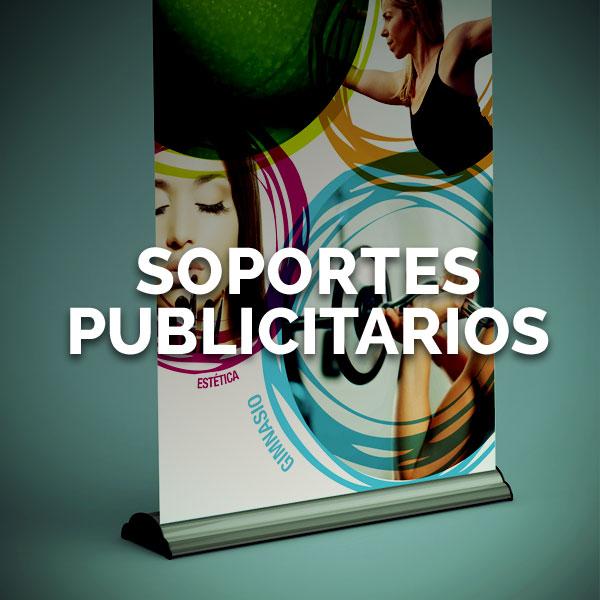 Soportes publicidad - Curva Rotulación Integral Pamplona