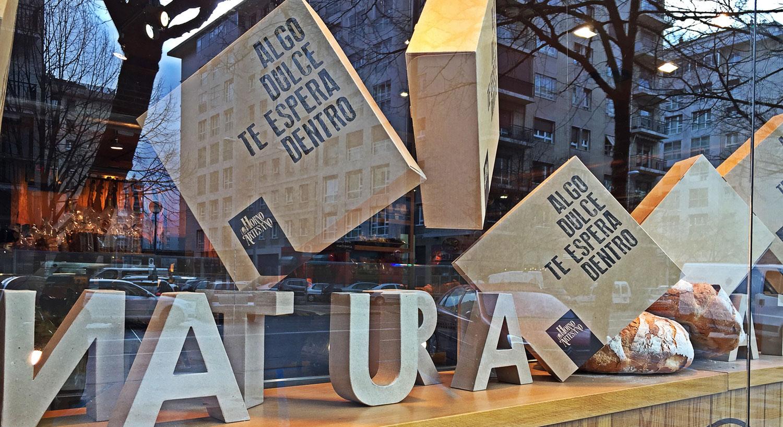 Horno Artesano - Diseño y Rotulación para tu negocio - Curva Rotulación Integral Pamplona